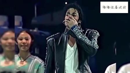 迈克尔·杰克逊1996吉隆坡演唱会, 最后这的场景真是感人
