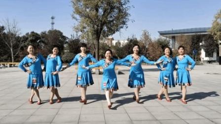 藏族舞蹈《拉萨夜雨》简单好学, 适合中老年人跳