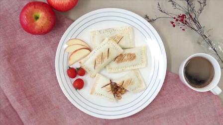 香甜的吐司苹果派, 无需烤箱1分钟就能教会你