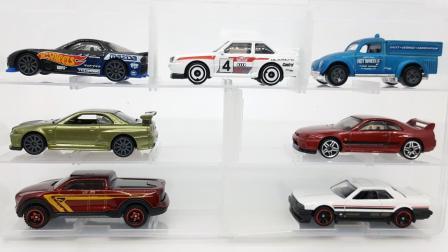 东知玩具【956+】有声版 风火轮hotwheels 9B批次新车 奥迪quattro短轴版&甲壳虫皮卡&GTR