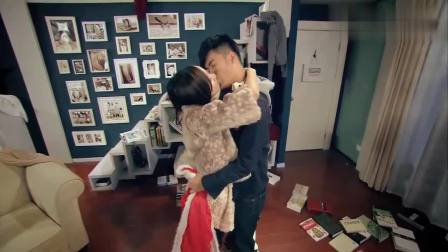 爱情公寓4: 曾小贤胡一菲激情热吻, 两人终于走上了正轨