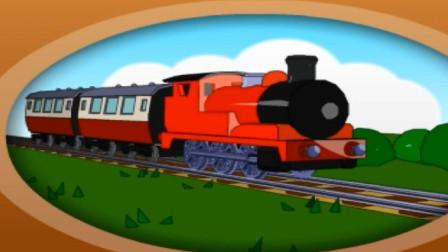 托马斯小火车玩具视频修建火车道玩具.mp4