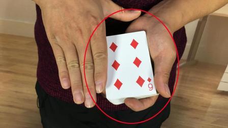 神奇魔术摸牌变点原来秘密这么简单
