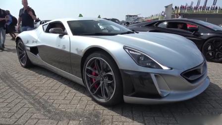 Rimac概念车之一, 世界上最快的电动汽车!