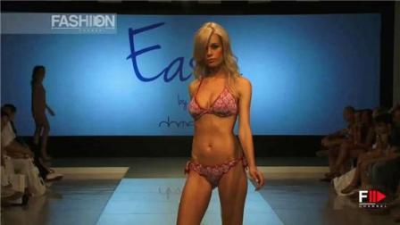 EASYBYDOMANI2019洛杉矶春夏时装秀, 超模摆拍的那个瞬间, 时间仿佛静止了!