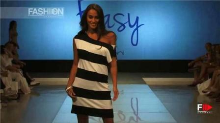 EASYBYDOMANI2019洛杉矶春夏时装秀, 薄纱飘飘, 露肩的设计堪称一绝!