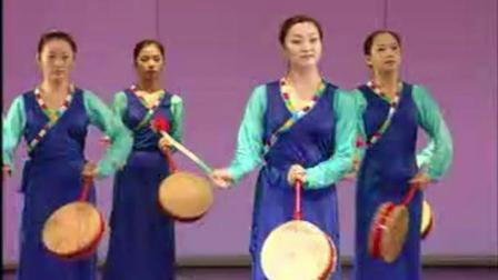 藏族舞蹈《热巴组合》示范教学(民大教授慈仁桑姆教程)