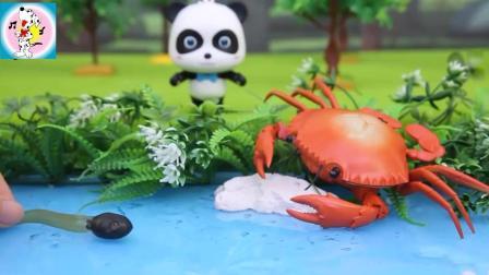 《宝宝巴士》小蝌蚪一出生就没见过妈妈, 奇奇怎么帮它找妈妈呢