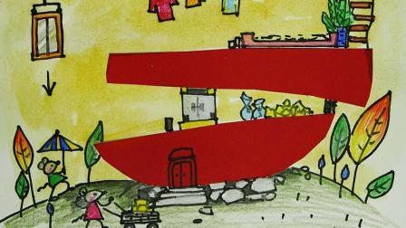 蔡叔叔讲画 创意儿童画:老鼠的苹果公寓