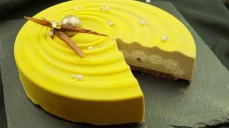 这期为你揭秘绒面喷砂慕斯蛋糕是如何做成的