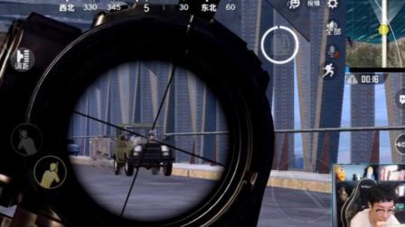 刺激战场奇怪君337 只用落地两把枪堵桥8杀, 单人四排18杀吃鸡 绝地求生刺激战场