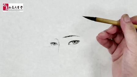 才不告诉你写意人物的眼睛并不是点一下那么简单呢…