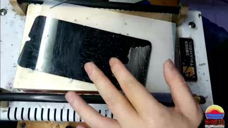 刘海水滴屏vivo X23 oppo R17拆机换盖板外屏屏幕全视频教程精简版