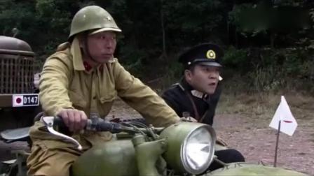 游击队长被日本鬼子追打, 高手来帮忙, 一刀把鬼子枪砍成两半!