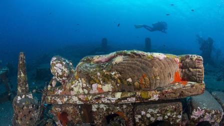 深海惊现神秘佛像, 极客带你探秘巴厘岛