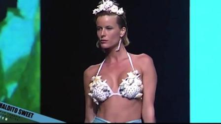 MalditoSweetswimwear迈阿密时装周比基尼秀, 欧美超模气质真好, 你喜欢吗
