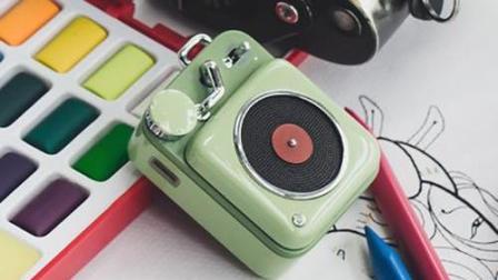 猫王原子唱机B612, 便携、复古的迷你小音响
