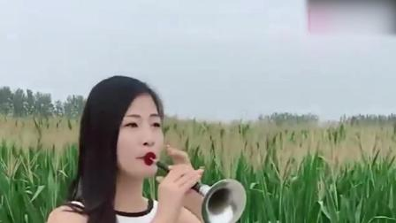 姑娘唢呐吹一首《走天涯》, 还不错哦, 赶紧来听听吧