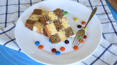 甜甜的棋盘蛋糕, 好吃到抓狂!