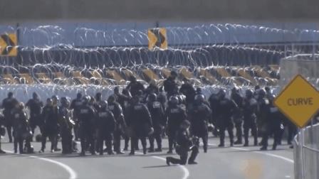 500移民冲撞美墨边境 美军动手了