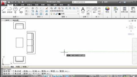 CAD室内设计教程, 十分钟教你学会绘制主卧室床, 简单易学