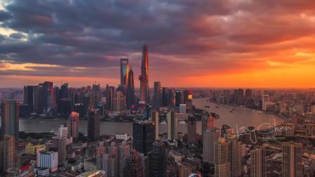 【4K航拍】China City丨北京 上海  重庆  广州