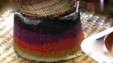 舌尖上中国: 看布依族的人们, 做的五色糯米饭, 想不想吃