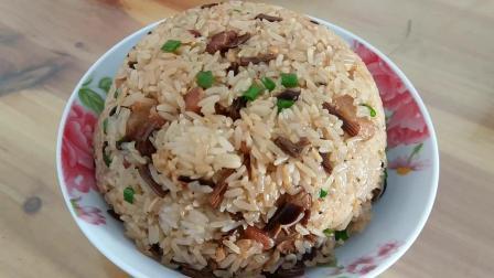 舌尖上的美味: 糯米饭的家常做法, 味道香, 这才是正宗的客家美食