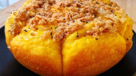 做面包不用烤箱了, 不用揉面, 不用擀面, 筷子一搅, 暄软还拉丝