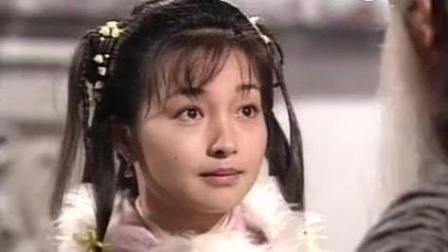 16年后郭襄和杨过风陵渡口初相遇, 古天乐摘下面具片段早已心动