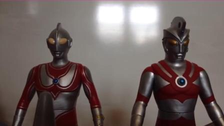 《泰罗奥特曼》自拍创意战斗特效动画! 奥特兄弟vs帝国星人