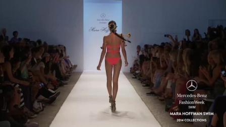 MARAHOFFMAN2019梅赛德斯奔驰时装秀, 欧美超模的辫子快甩上天了, 真是够卖力的!