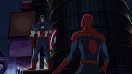 共生体屠浩克? 蜘蛛侠: 我还是喜欢绿色的浩克!
