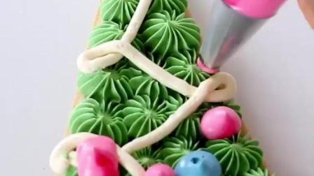圣诞节快来咯, 做个圣诞树姜饼糖开party吧!