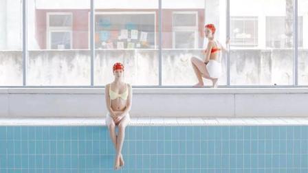 最性冷淡的少女泳装写真