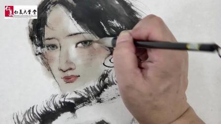 为美丽的藏族女孩作画竟是这么愉快的一件事… 这个视频把我这几天的压力都变没了