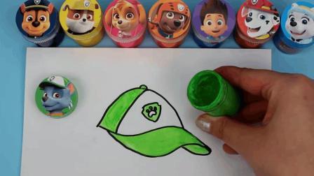 寓教于乐! 我们一起来给汪汪队的灰灰画一顶好看的帽子吧!