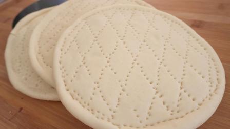 简单易做的披萨饼皮, 软香薄脆, 教你在家轻松制作