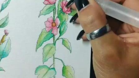 水彩 图案设计 by Roan Tjon fo 荷兰的自学涂鸦艺术家