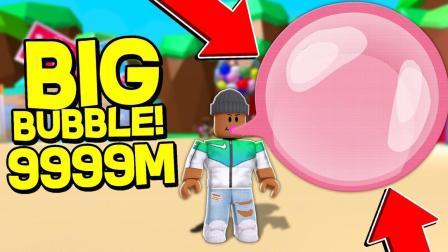 小格解说 Roblox 泡泡糖模拟器: 吹泡泡大作战! 我的比热气球都大?