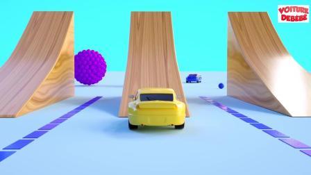 小汽车儿童动画英文儿歌幼儿教育系列《十七》
