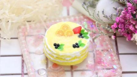 柠檬裸蛋糕模仿网图做的小蛋糕哦暖宝宝们
