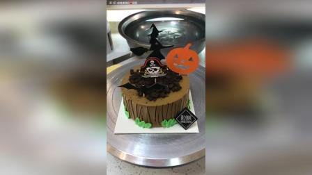 美拍视频: 树桩蛋糕