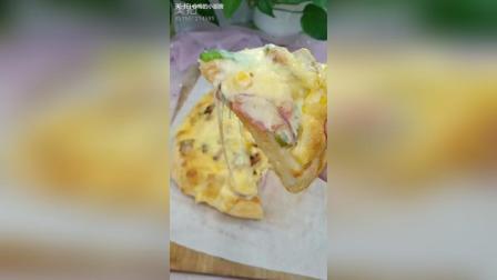 自制奥尔良鸡腿肉披萨教程