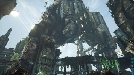 官人原创 灭绝DLC 直奔地表重见天日ep13 方舟生存进化 双人冒险