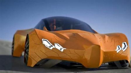 世界上最酷的跑车, 250块鳞片组成, 网友: 变形金刚?