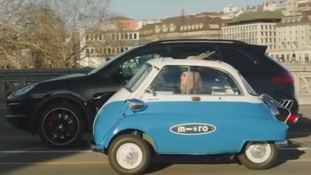 宝马公司新出复古电动汽车, 售价还不到十万元, 在国外被疯抢