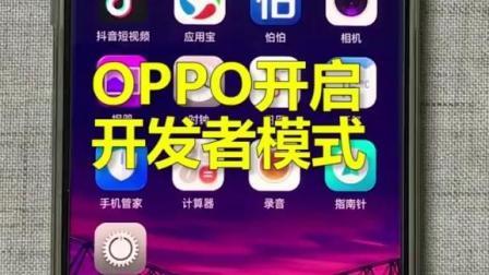 OPPO手机怎么开启开发者模式?