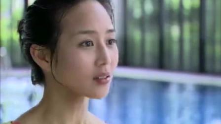 最美的时光: 陆励成看苏蔓游泳, 出水芙蓉, 眼睛都直了! 心动的感觉