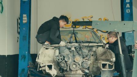 工匠精神, 4个人把一台捷达改成一台皮卡, 装V8发动机!
